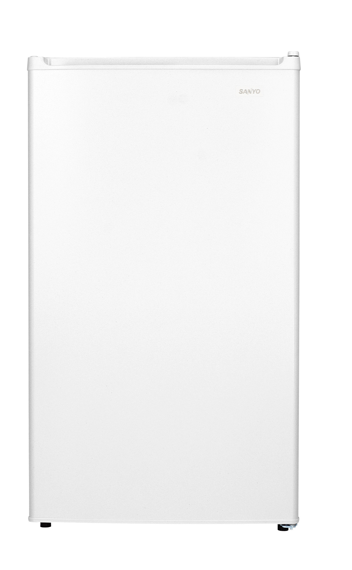 Sanyo sr4310w white referigerator 4.3cf reversible door