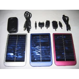 Aluminum Alloy Solar Panel with 2600 Ma/h Battery Capacity
