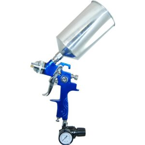 HVLP PRIMER SPRAY GUN WITH 2.0 NOZZLE/TIP/REGULATOR (Primer Gun)