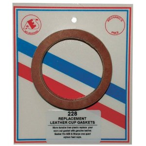 Leather Paint Cup Gaskets - 6 per card