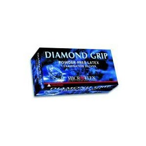 Diamond Grip Latex Gloves 100/Box - X-Large