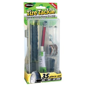 Slime 2510 22-Piece Tire Tackle Tire Repair Kit