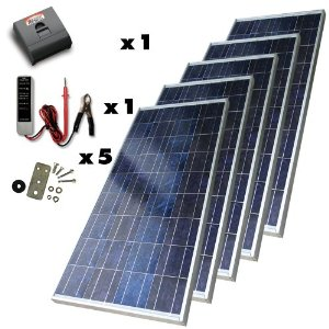 Sunforce 39305 650-Watt High-Efficiency Polycrystalline Solar Power Kit