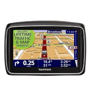 TomTom GO 740TM LIVE (Lifetime Traffic & Maps Edition) 4.3-Inch Portable GPS Navigator