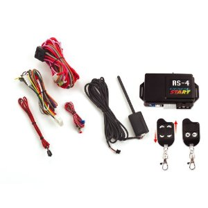 Crimestopper RS-4 Remote Car Start with Keyless entry, Data Port, Turbo timer, Gas and Diesel