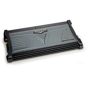 Kicker 07MX7005 4X75-Watt Amplifier with 400-Watt Subwoofer