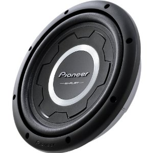 Pioneer TS-SW3001S2 12-Inch Shallow Subwoofer with 1500 Watts Max Power