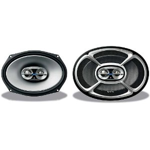 Infinity Reference 9623i 6 x 9-Inch Three-Way Loudspeaker (Silver/Black)