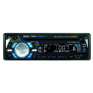 Boss 738BI Bluetooth-Enabled MP3 Compatible CD/AM/FM Receiver