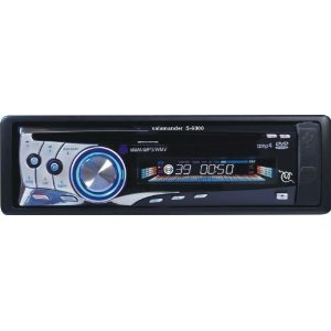 Salamander SSI S-6000 In-Dash 1DIN CD DVD Car Stereo