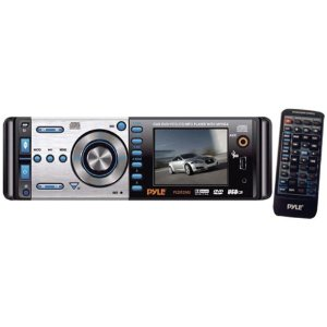 Pyle PLD52MU 2.5-Inch In-Dash DVD Monitor/Receiver