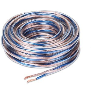 StreetWires 14-gauge Ultra Cable Speaker Wire Blue/copper jacket 25 feet