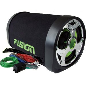 Fusion Encounter EN-AT1100 10-Inch 300W Amplified Bass Package + Amp Kit and Bass Control