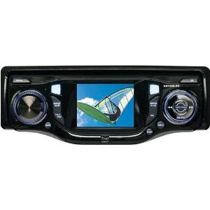 Dual XDVD8130 In-Dash AM/FM/CD/DVD Player with 2.5-Inch Monitor