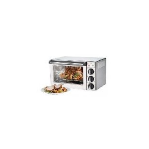 Countertop .9 cu. ft. Convection Oven w/ Rotisserie, (3) Quarter Size Pan Cap.