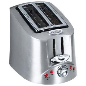 Hamilton Beach 22110 Eclectrics All-Metal 2-Slice Toaster, Sterling