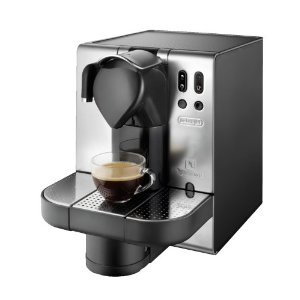 DeLonghi EN680.M Nespresso Lattissima Single-Serve Espresso Maker, Metal