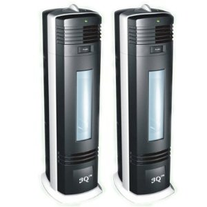 *TWO* 3Q ELECTROSTATIC AIR PURIFIER WITH UV LAMP & CHARCOAL FILTER