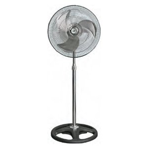 Comfort Zone 18-Inch High Velocity Industrial Pedestal Fan