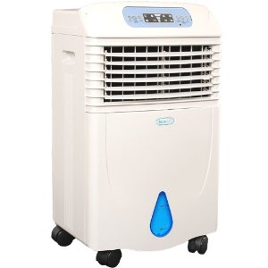 NewAir AF-321 Portable Evaporative Swamp Air Cooler With Built-In Air Purifier