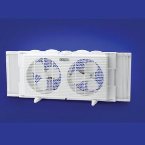 Lasko #2137 Twin Window Fan