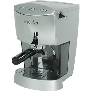 Gaggia 16109 Evolution Semi-Automatic Espresso Machine, Silver and Chrome