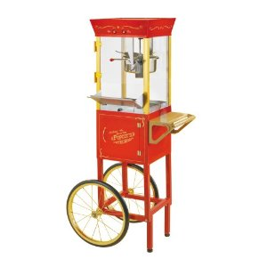 Nostalgia Circus-Cart Popcorn Makers