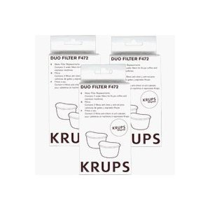 Krups F472 Duo Filter 2 pack- Set of Three (6 total filters)