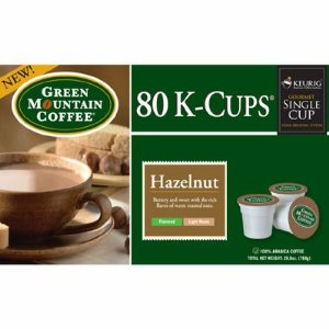 Keurig Green Mountain Coffee Hazelnut K-Cups - 80 pk.