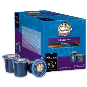 Emeril Lagasse K-Cup Coffees & Teas Big Easy Bold Coffee K-Cups 18-pc.
