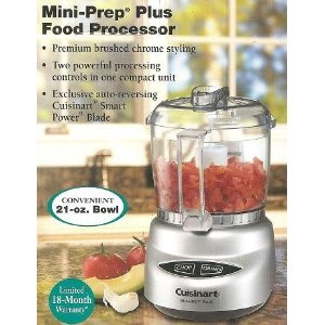 Cuisinart Silver Color Mini-prep Plus Food Processor