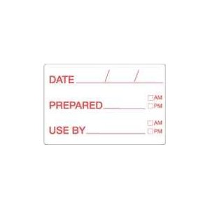Daydots Dissolvable - Date Prepared Use By 10709-01-11