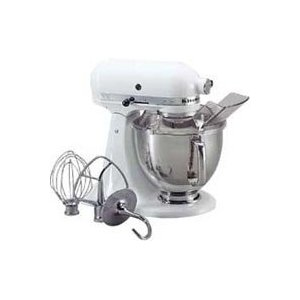 Kitchen Aid 5KSM150 Stand Mixer White - 220 Volts Only!