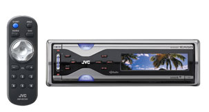 Jvc kdr900 car cd 2usb 80w blu tooth sat hd steering ready
