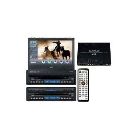 JVC KD-AV7010 - DVD player with LCD monitor / AV receiver - EXAD