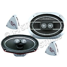 "Rockford Fosgate Punch P1692S 6"" x 9"" Component System"