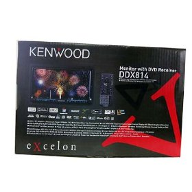 KENWOOD EXCELON DDX-814 DOUBLE DIN DVD RECEIVER DDX814