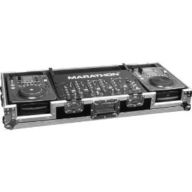 Holds 2 X Medium Format Cd Players: American Audio Cdi 300, 500 , Numark Icdx Players Players + 19-inch Mixer W/ Low Profile Wheels