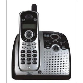 GE 25846EE1 CORDLESS TELEPHONE WITH CALL WAITING CALLER ID AND D