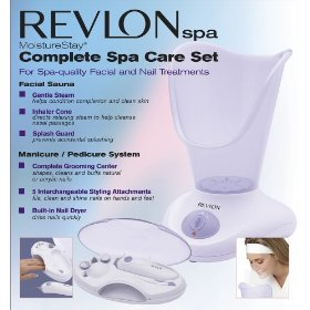 Revlon RVS1223PK1 Moisture Stay Nail/Facial Kit, White