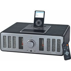 Acoustic Research Tabletop Radio with Docking Station for iPod and MP3 Players