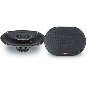 Boston Acoustics SL 95 - Car speaker - 60 Watt - 2-way - coaxial - 6