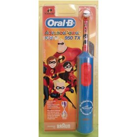 Braun D9513K Oral B Kids Power Toothbrushes- 950TX The Incredibles