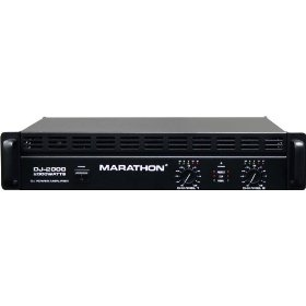 Marathon Dj-2000 Dj Series Power Amplifier 250w@8 Ohms - 500w@4 Ohms - Up To 2000w@8ohm Bridge