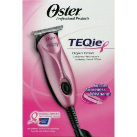 Oster Teqie Hair Clipper Trimmer - Pink