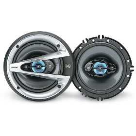 Sony XSGTX1640 6.5-Inch Coaxial 4-Way Speakers