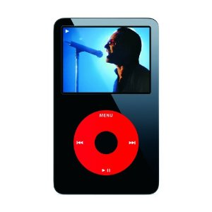 Apple iPod 30 GB Video U2 Special Edition Black MA664LL/A (5.5 Generation) OLD MODEL