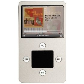 Ibiza Rhapsody H1A030S 30 GB Wi-Fi/MP3 Player by Haier (Silver)