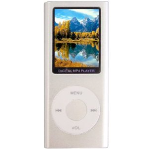 Aio-1.8-inch LCD 4g Mp4 Player-white