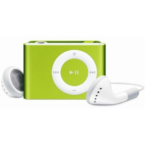 Apple iPod shuffle 1 GB Lime Green (2nd Generation) OLD MODEL